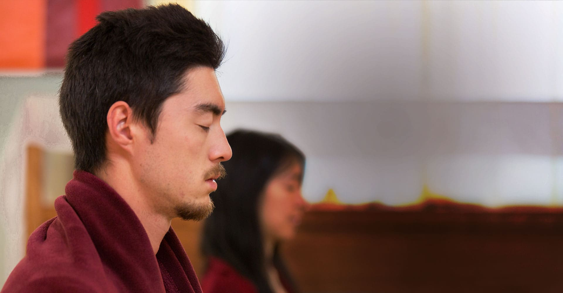 Image of students in Meditation