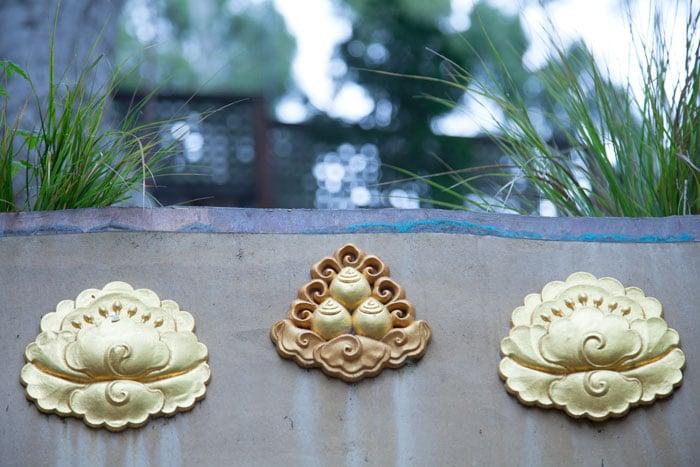 Image of Buddhist symbols.