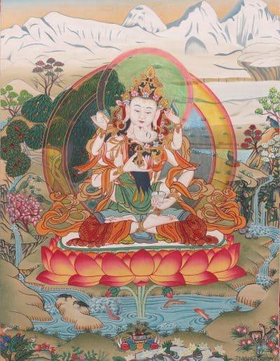 Vajrasattva with consort