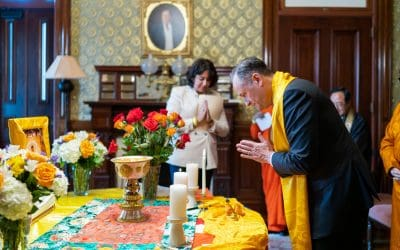 Lighting a Lamp in the White House for Peace and Healing